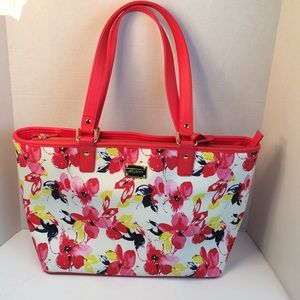 St. John Large Floral Tote